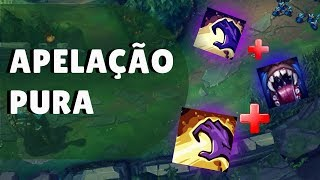 TIME DE LEAGUE OF LEGENDS ABUSA DE NOVA ESTRATÉGIA NO COMPETITIVO