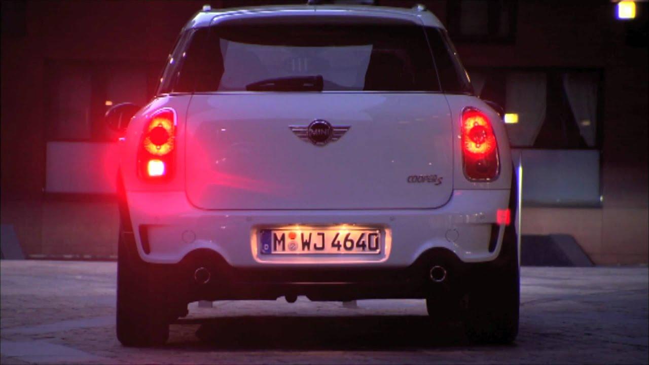 Mini Cooper Interior >> The MINI Cooper S Countryman Light sequence - YouTube
