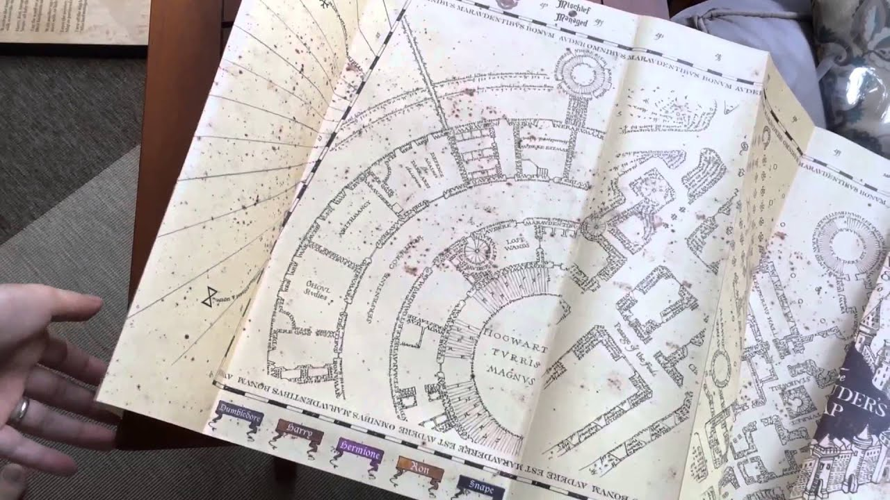Sonstige Universal Studios Wizarding World of Harry Potter Park Marauders Map Jigsaw P...