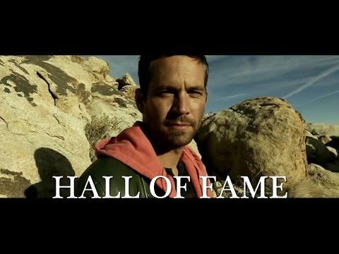 Paul Walker tribute - Hall of Fame