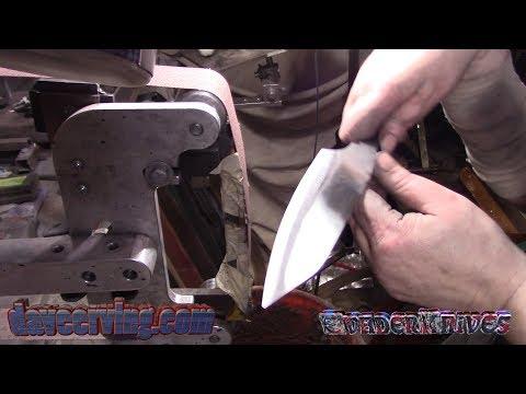 1095 Custom Designs - Convex Bevels on a Kitchen Knife