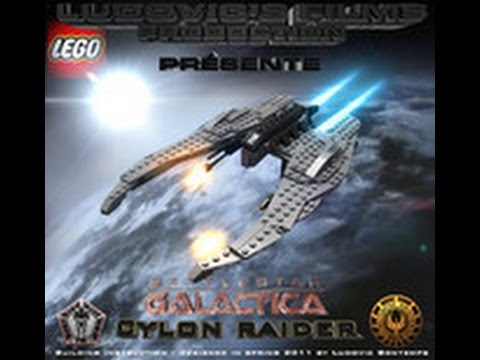 How To Build The Lego Cylon Raider From Battlestar Galactica Youtube