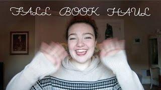 FALL BOOK HAUL! Thumbnail