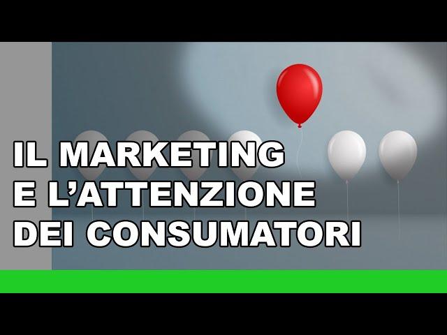 Come il marketing sposta l'attenzione di un settore commerciale