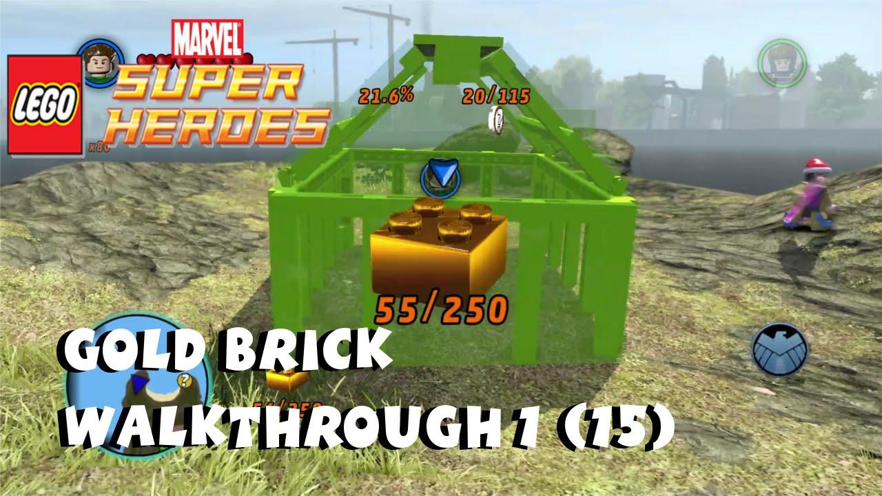 marvel lego last gold brick