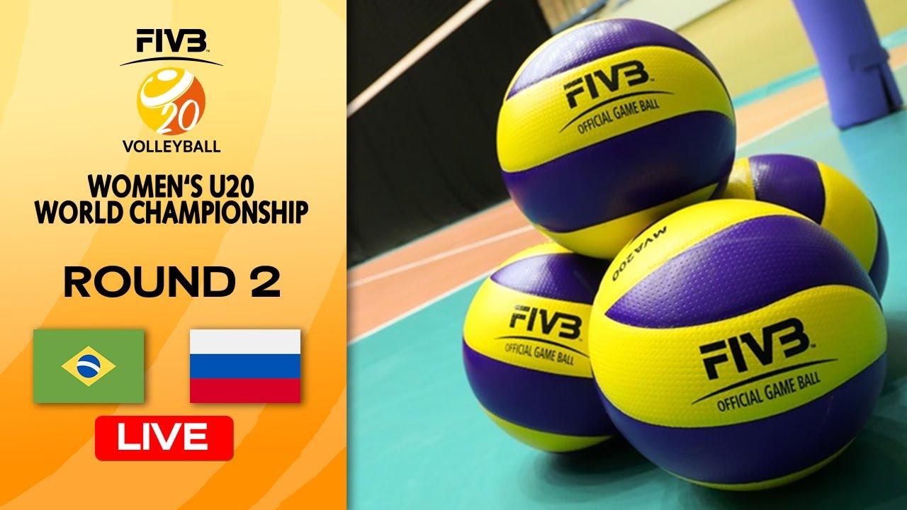 Download BRA vs. RUS - Full Match | Round 2 | Women's U20 Volleyball World Champs