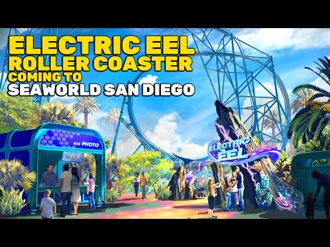NEW Electric Eel roller coaster coming to SeaWorld San Diego in 2018