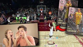 WE PULLED PINK DIAMOND PAUL GEORGE & KOBE! NBA 2K DISCARD CHALLENGE