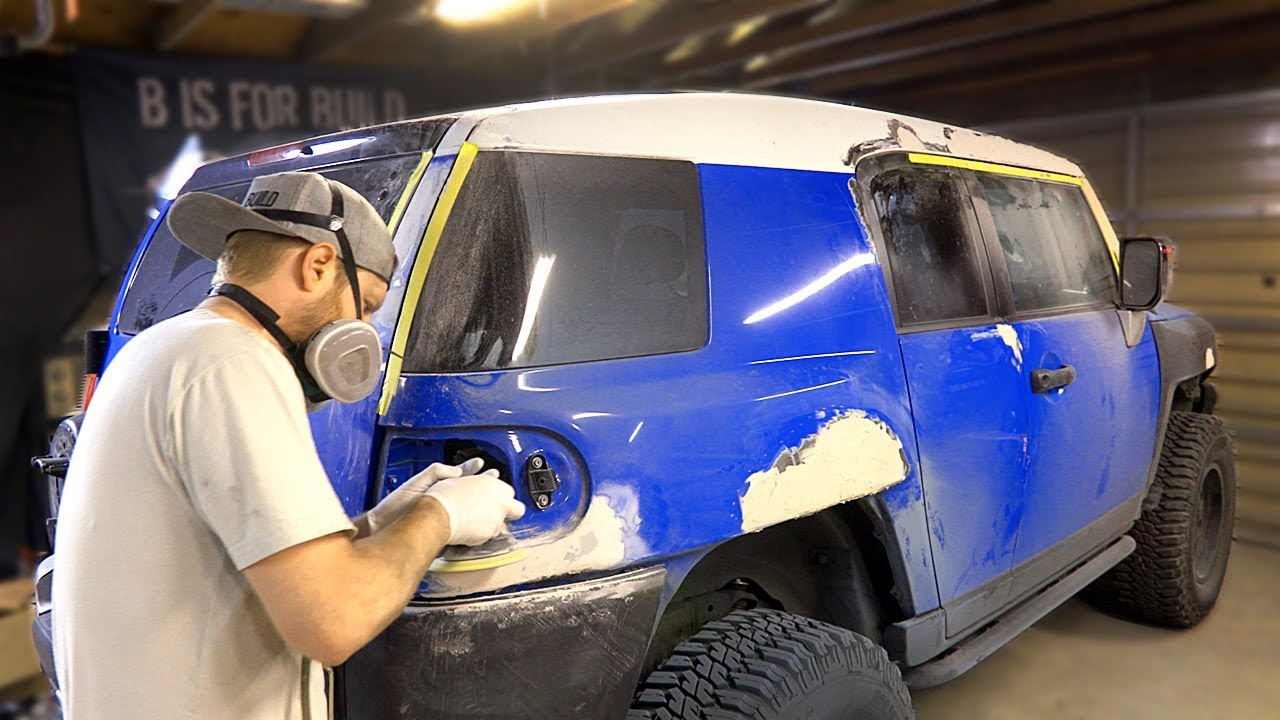 FJ Cruiser Build Pt 6 - Fixing Dents &