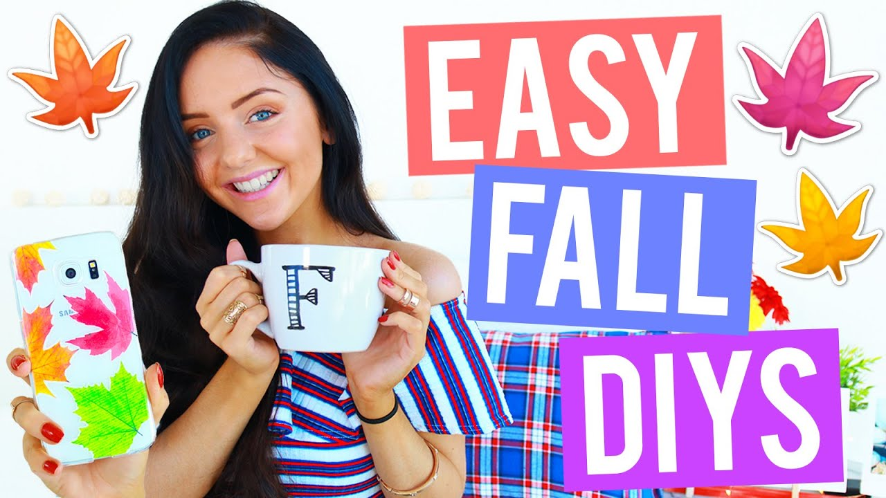 Easy Diy Fall Room Decor 2016 Cheap Cosy Easy Room Decorations
