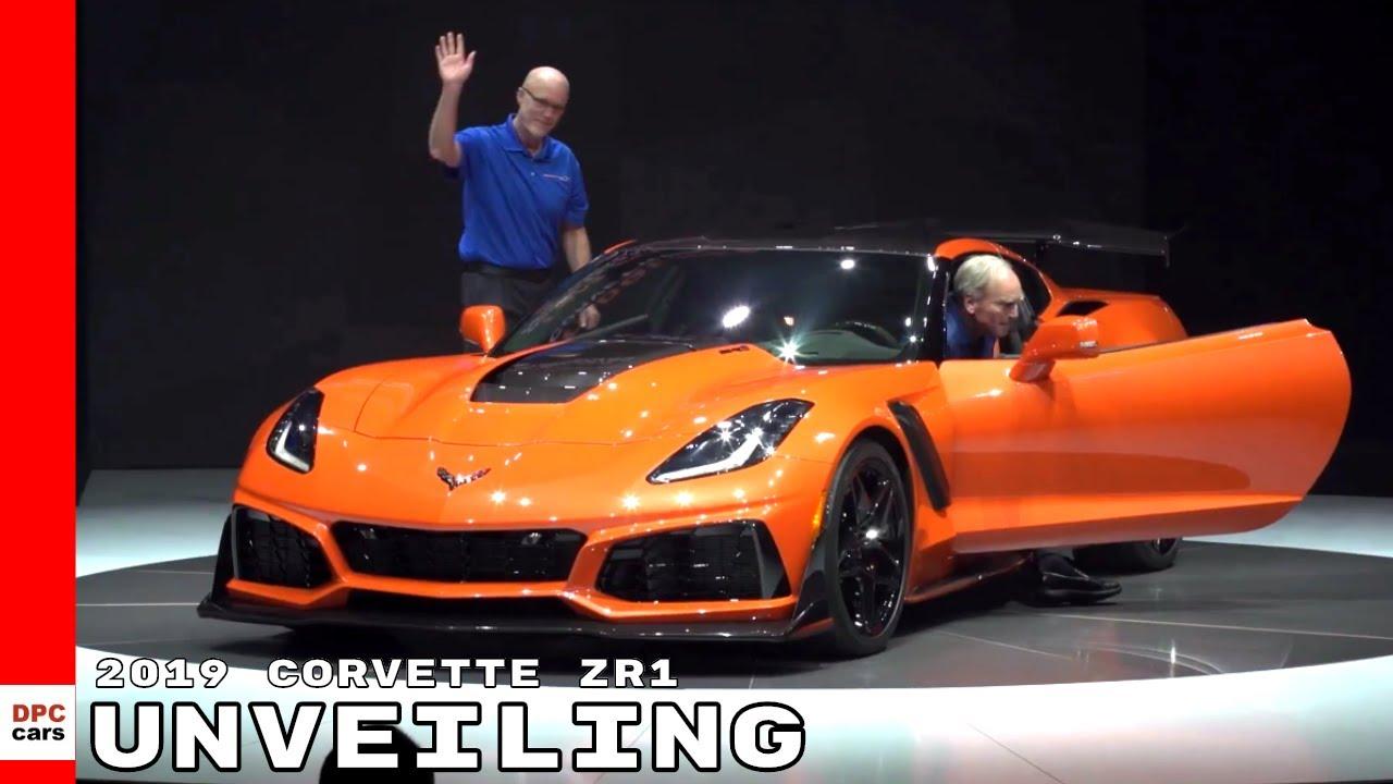2019 Corvette Zr1 Unveiling Youtube
