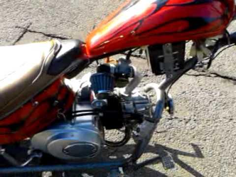For sale 110cc mini chopper  YouTube