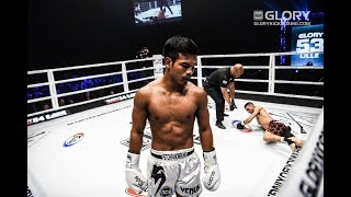 GLORY 53: Petchpanomrung Kiatmookao vs. Abdellah Ezbiri-Full Fight