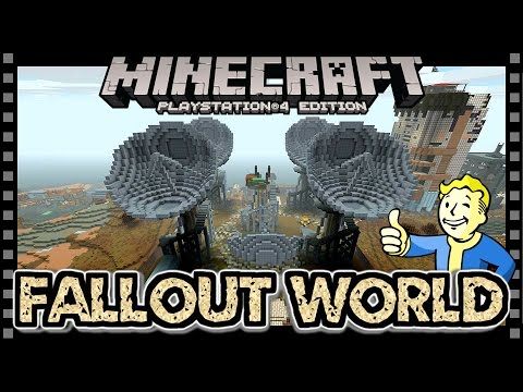 MINECRAFT FALLOUT MASH UP | SATELLITE STATION [12] PS4