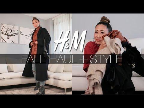 H&M FALL HAUL + STYLE