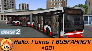 OMSI 2: Hamburger Buspaket #001 | Hallo, I bims 1 BUSFAHRER! | Bus Simulator | Let