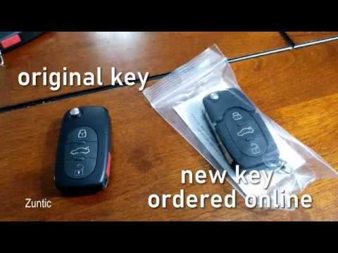 VW second key for my 1999 new beetle for 46$ without immobilizer chip or dealership visit