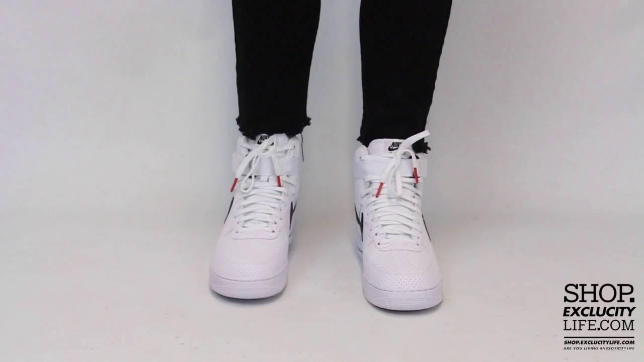 nike air force 1 high perf white/black