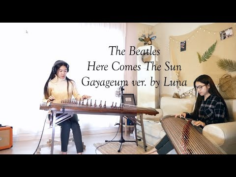 the-beatles-here-comes-the-sun-gayageum가야금-ver.-by-luna