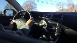 2008 Lexus IS250 Extended Test Drive