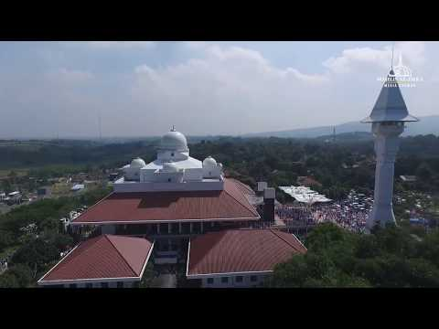 Masya Allah, Suasana Majelis Zikir Ustadz Muhammad Arifin Ilham [drone camera]