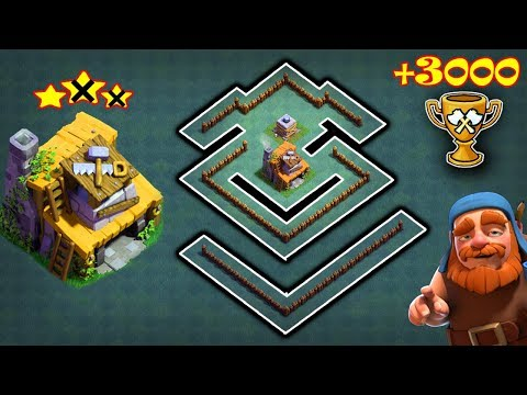 COC Best! Builder Hall 4 (BH4) Base For 2019 W/Replays I Bh4 Base Layout Anti 1 Star |Clash Of Clans