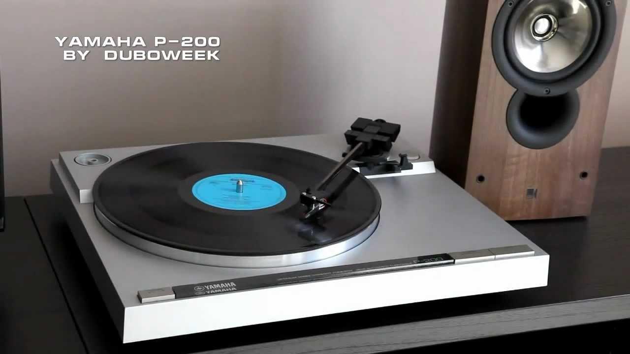 Yamaha P 200 Vinyl Record Player Turntable Demo Youtube