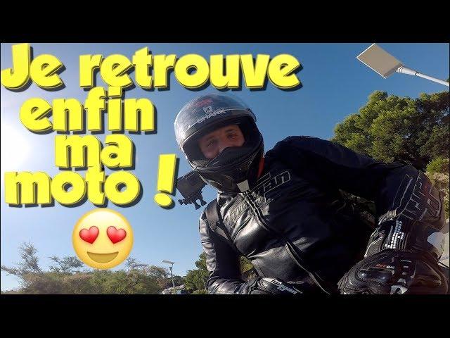 Quand un motard retrouve sa moto après 6 mois...