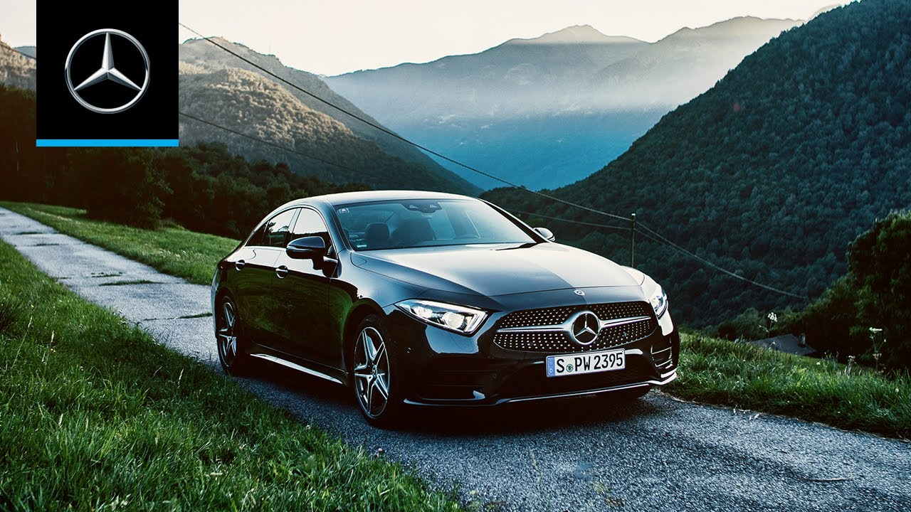 Mercedes: Mercedes-Benz CLS - Let's escape!