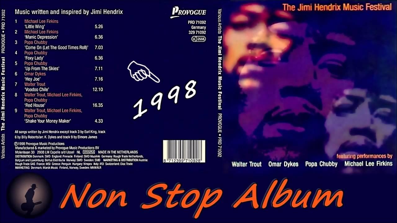 The Jimi Hendrix Music Festival 1998 [Non Stop Album ...