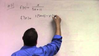Basic Calculus: Lecture 9 part 2: higher derivatives and chain rule examples