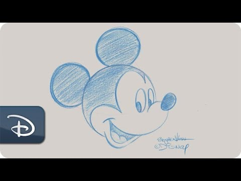 how-to-draw-mickey-mouse---contemporary