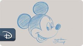 How-To Draw Mickey Moขse - Contemporary