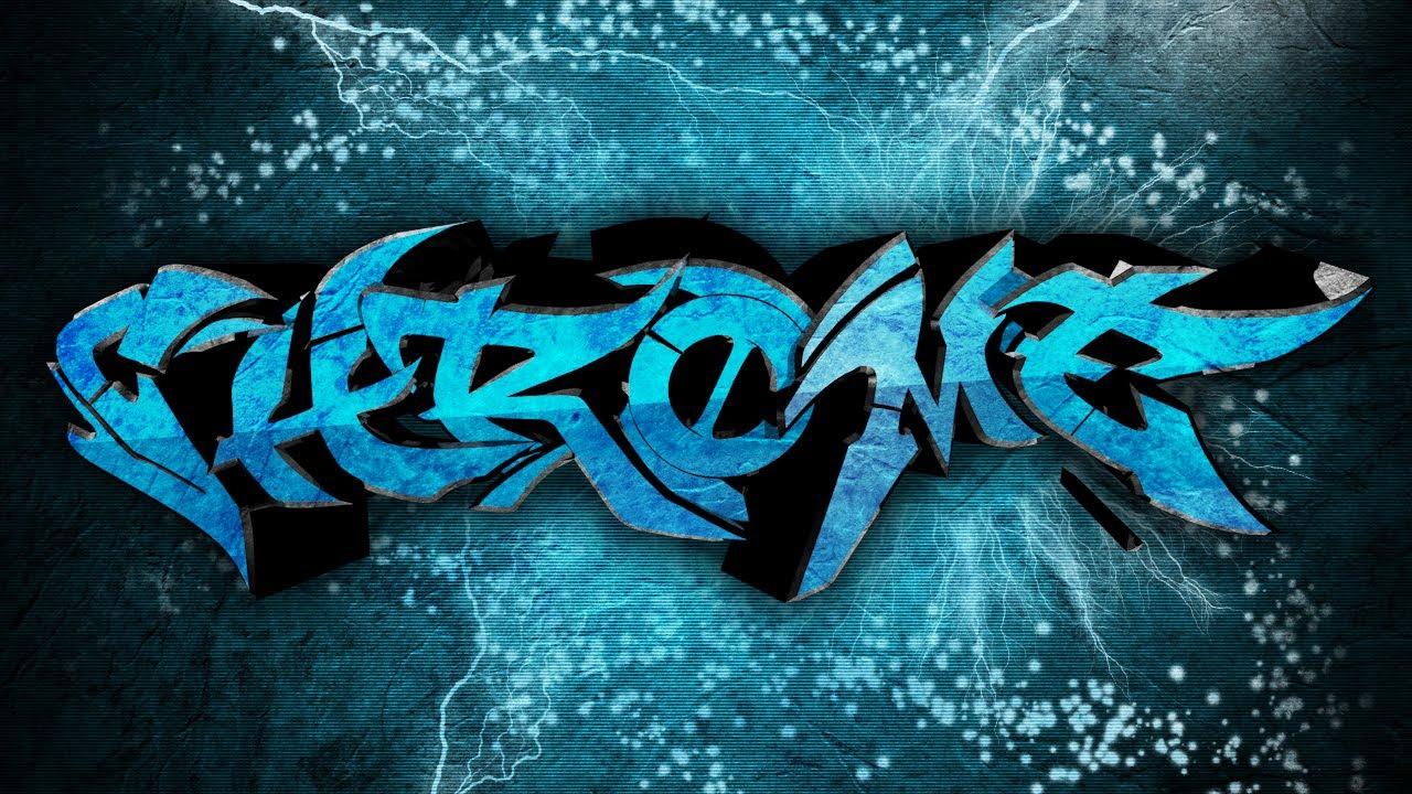 Graffiti style youtube background tutorial photoshop cs6 youtube