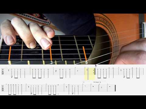Can Gitar Dersleri - Tango to Evora (Caddelerde Rüzgar) Solo Klasik Gitar