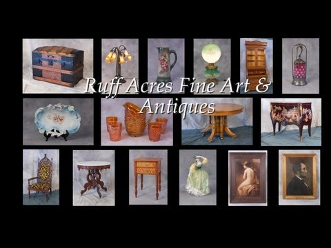 Ruff Acres - Antiques and Fine Art Dealer & Store - Russell, PA. - Buys, Sells & Appraises  Antiques