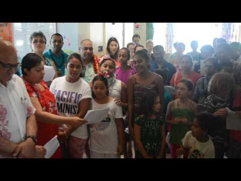 FT Online: Christmas treat for children at CWMH, Suva.