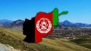 Blank Map of Afghanistan (افغانستان) - Timelapse