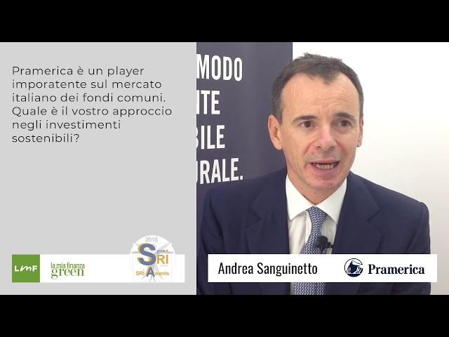 Andrea Sanguinetto (Pramerica) - Salone SRI 2018