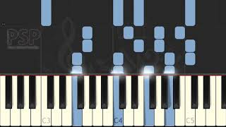 while shepherds watched (Traditional) [Synthesia Piano Tutorial]