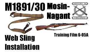 Mosin-Nagant Web Sling Install (TF 6-05A)