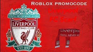 Roblox Promocodes  Liverpool FC Scarf