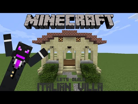 Lets Build An Italian Villa | Minecraft Lets Build | Part 1