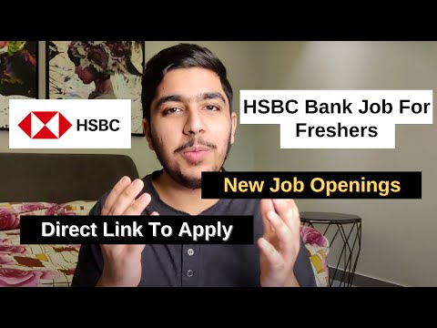 HSBC Bank Jobs for Freshers 2020 | Customer Service Jobs | Private Bank Job | HSBC Recruitment 2020