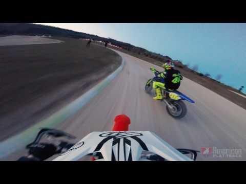 MotoGP vs. American Flat Track - Rossi and Halbert