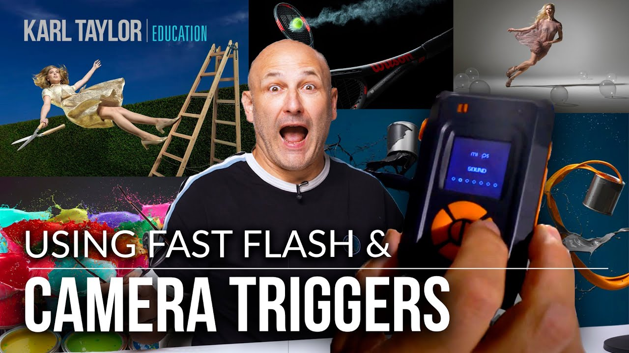 Using Fast Flash & Camera Triggers - Get More Creative with Your Photography!!
