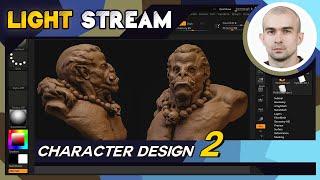 Light Stream   Dmitriy Kononenko - Character design #2