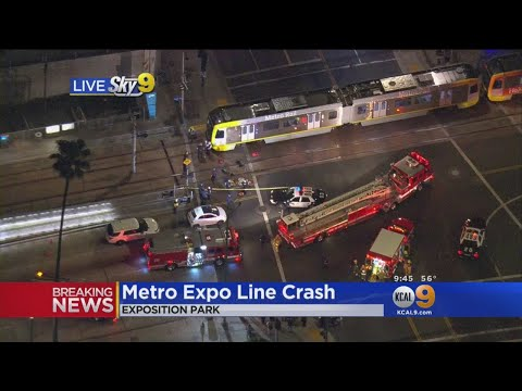 2 Hurt In Metro Expo Line Crash
