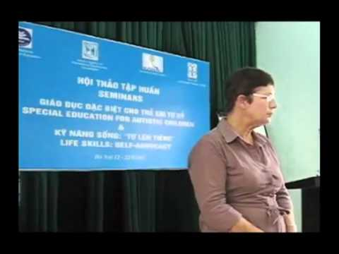 Special education training in Hanoi 2011