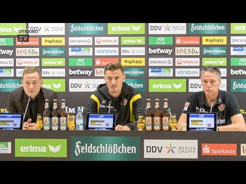 10. Spieltag   FCH - SGD   Pressekonferenz vor dem Spiel